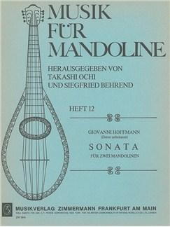 Hoffmann: Sonata F Major Books | Mandolin