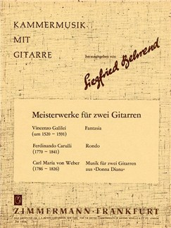 Meisterwerke Fur Zwei Gitarren Books | 2 Guitars