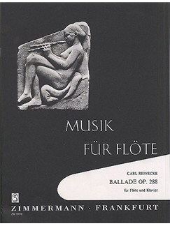 Carl Reinecke: Ballade Op.288 Books | Flute, Piano Accompaniment
