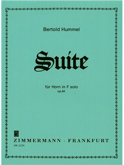 Bertold Hummel: Suite Op.64 Books | Horn