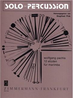 Wolfgang Pachla: 12 Etudes Books | Marimba