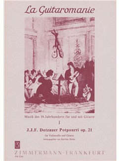 Dotzauer: Porpourri Op 21 Books | Cello, Guitar