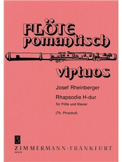 Rheinberger: Rhapsody Books | Flute