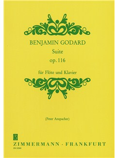 Benjamin Godard: Suite Op.116 Books | Flute, Piano Accompaniment