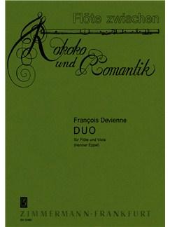 Devienne: Duo Books | Flute, Viola