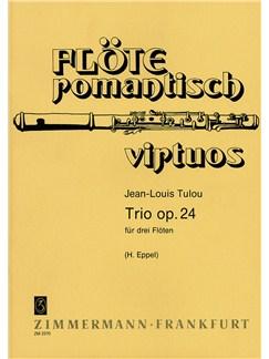 Tulou: Trio Op 24 Books | Flute