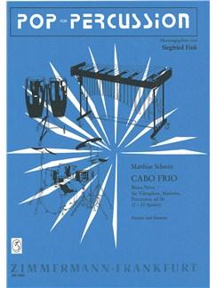 Matthias Schmitt: Cabo Frio (Bossa Nova) Books   Vibraphone, Marimba, Percussion