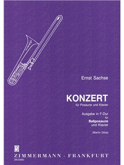 Sachse: Concerto F Major Books | Bass Trombone