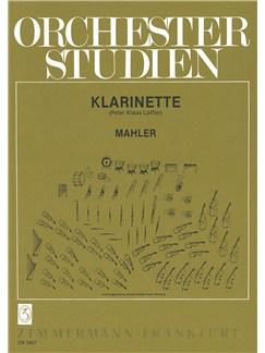 Gustav Mahler: Orchestral Studies (Clarinet) Books | Clarinet