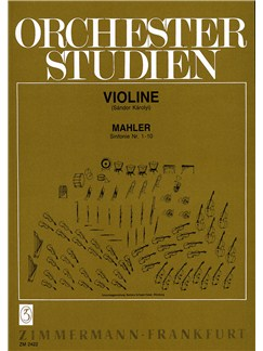 Gustav Mahler: Orchestral Studies For Violin Books | Violin