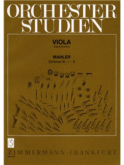 Mahler: Orchestral Studies: Symphonies 1-6 Books | Viola