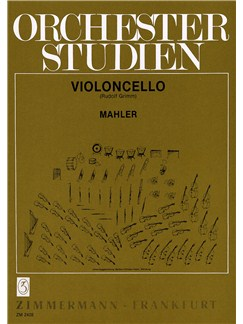 Gustav Mahler: Orchestral Studies Books | Cello