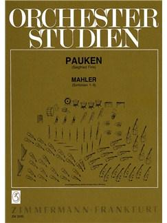 Gustav Mahler: Orchester Studien - Sinfonien 1-9 Books | Timpani
