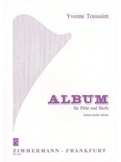 Yvonne Toussaint: Sieben Leichte Stucke Books | Flute, Harp
