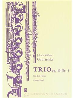 Gabrielski: Trio Op 10/1 Books | Flute