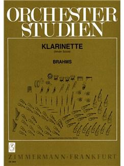 Brahms: Orchestral Studies Books | Clarinet