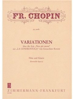 "Chopin: Variations On ""Non Piu Mesta"" (Rossini) Books 