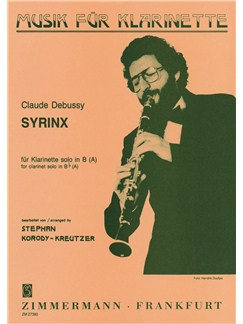Claude Debussy: Syrinx (Clarinet) Books   Clarinet