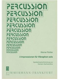 Rottler: 3 Impressions Books   Vibraphone