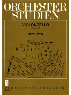 Beethoven: Orchestral Studies Books | Cello
