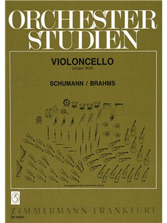 Orchestral Studies: Schumann/Brahms (Cello) Books | Cello