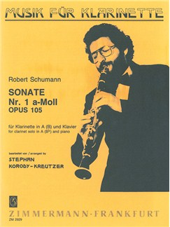 Schumann, R: Sonata A Minor Op 105/1 Books | Clarinet