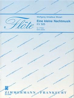 W.A. Mozart: Eine Kleine Nachtmusik K.525 Books | Flute (Quartet)