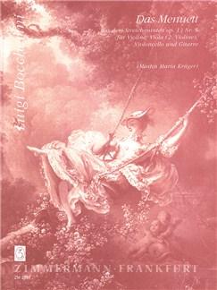 Luigi Boccherini: Minuet Op 13/5 Books | Sting Quintet