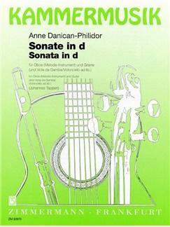 Anne Danican-Philidor: Sonata D In Minor Books | Oboe, Guitar