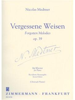 Nikolai Medtner: Forgotten Melodies Op.39 Books | Piano