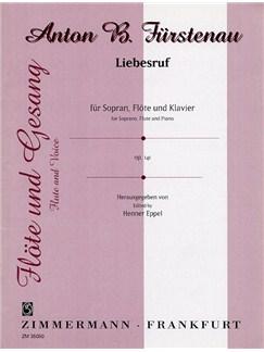 Anton Furstenau: Liebesruf Op.141 Books | Soprano, Flute, Piano Accompaniment