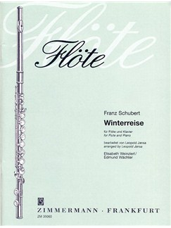 Franz Schubert: Winterreise D 911 (Flute/Piano) Books | Flute, Piano Accompaniment