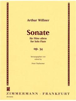Arthur Willner: Sonata For Flute Op.34 Books | Flute