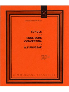 W.F. Prussak: Method For English Concertina Books | Concertina