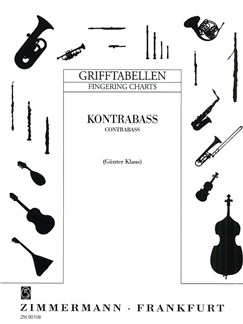Double Bass Fingering Chart Books | Double Bass