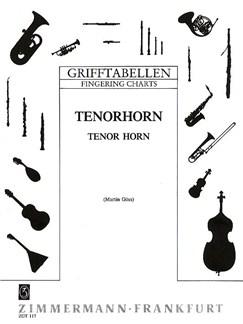 Tenor Horn Fingering Chart Books | Tenor Horn