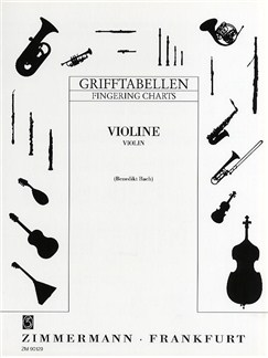 Violin Fingering Chart Books | Violin