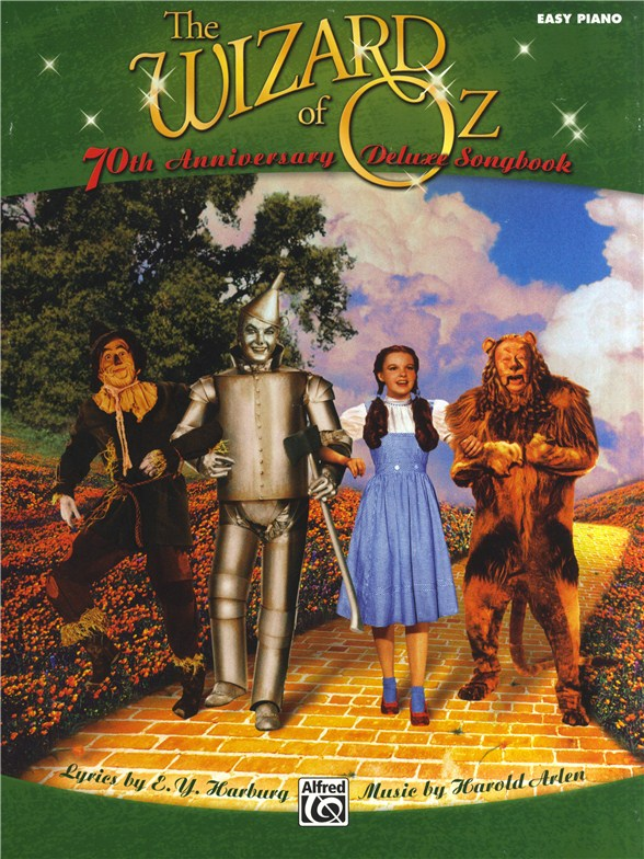 wizard of oz piano vocal score pdf