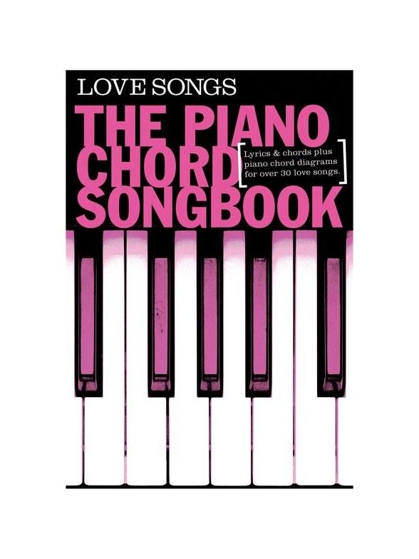 Piano Chord Songbook Love Songs Lyrics Piano Chords Sheet Music