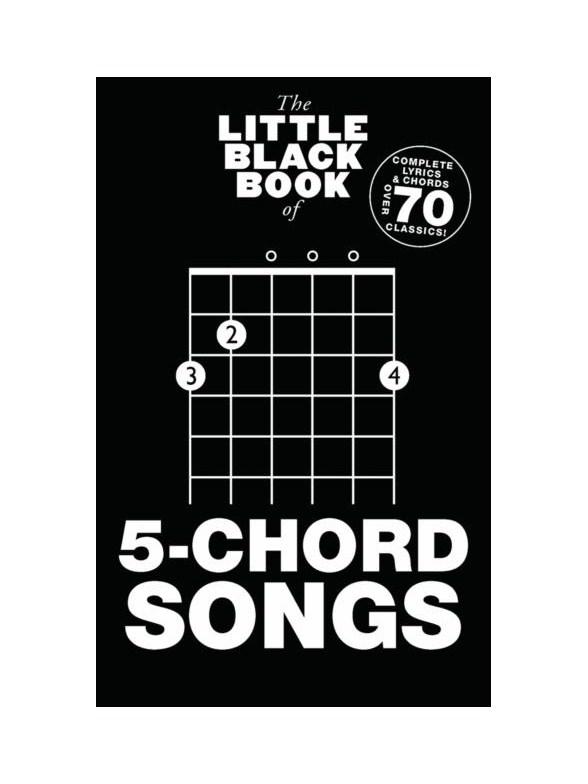 The Little Black Book Of 5 Chord Songs Guitar Sheet Music Sheet