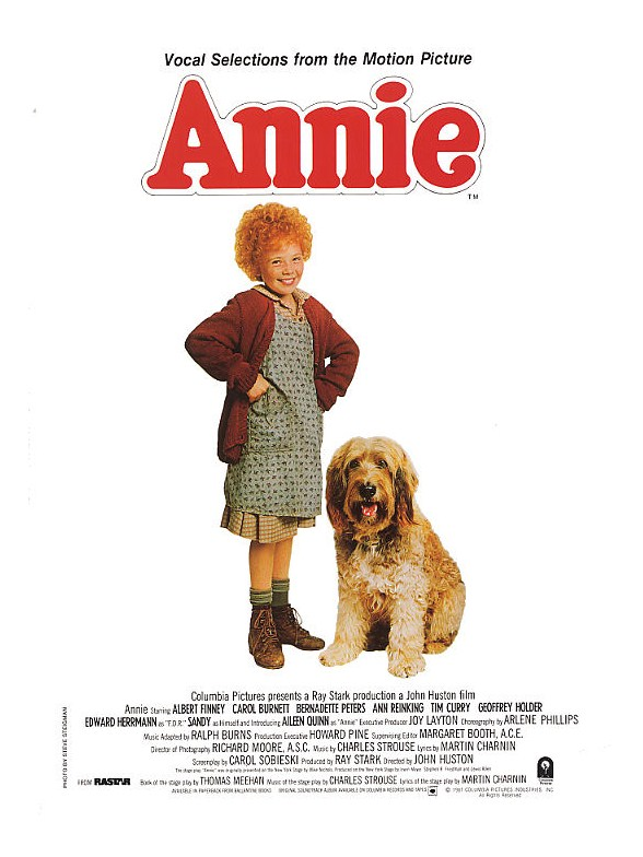 selections from annie john Featuring book and score by tony award winners thomas meehan, charles strouse and martin charnin, annie includes such unforgettable songs as it's the .