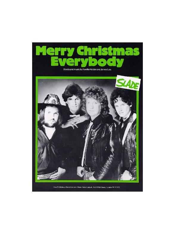slade merry christmas everybody piano vocal guitar digital sheet music sheet music songbooks musicroomcom - Slade Merry Christmas Everybody
