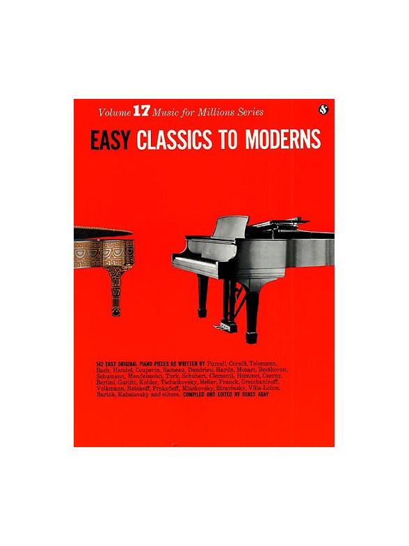 Sheet Music : Easy Classics To Moderns Piano (Piano solo)