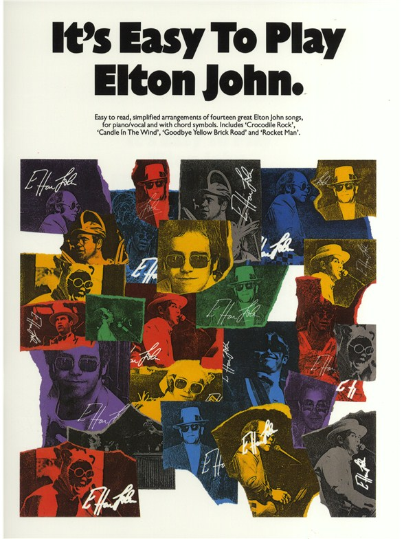 It\'s Easy To Play Elton John - Piano, Vocal & Guitar Sheet Music ...