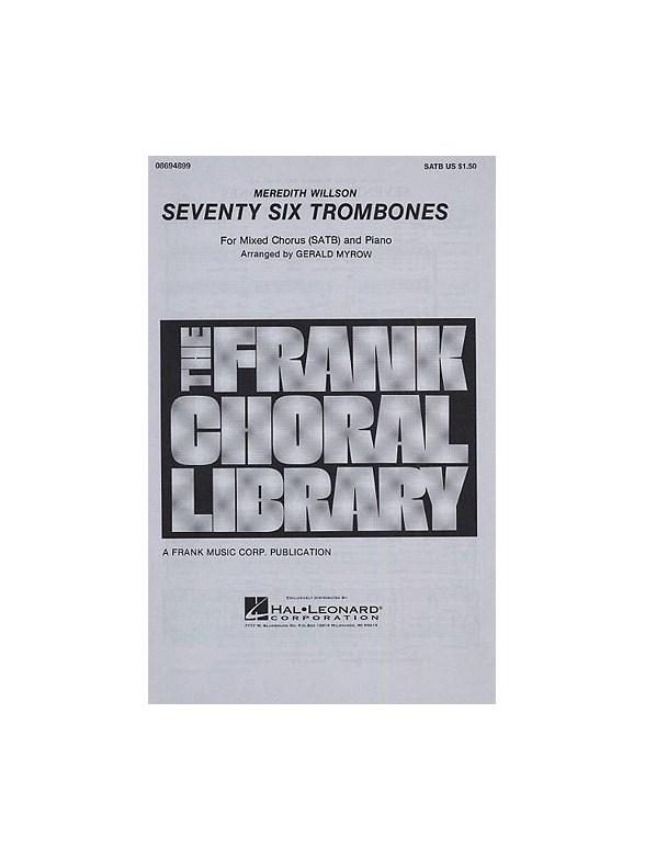 seventy six trombones sheet music pdf