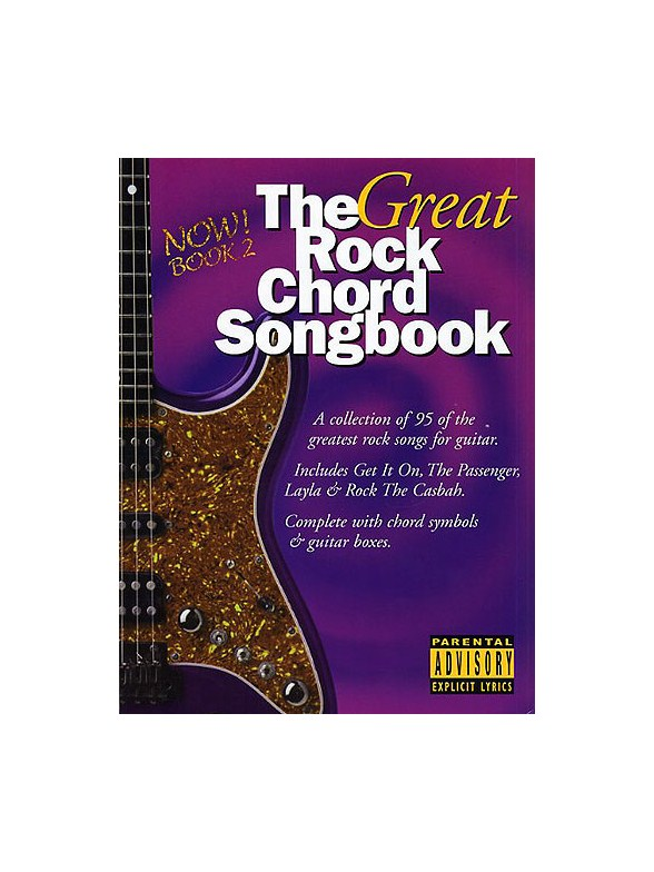 The Great Rock Chord Songbook 2 - Lyrics & Chords Sheet Music ...