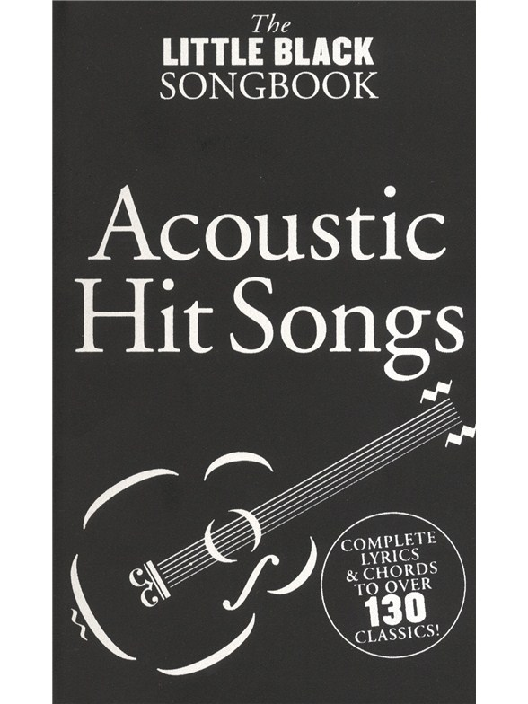 The Little Black Songbook Acoustic Hits Lyrics Chords Sheet