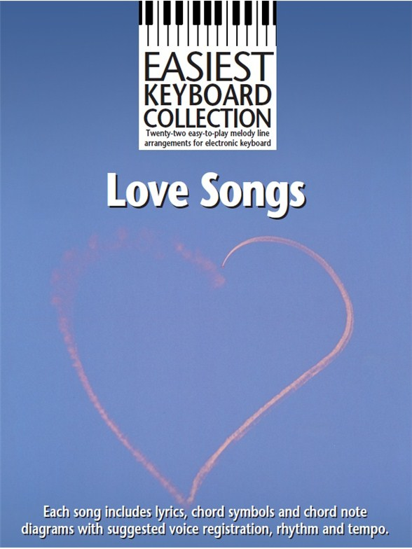 Easiest Keyboard Collection Love Songs Melody Line Lyrics