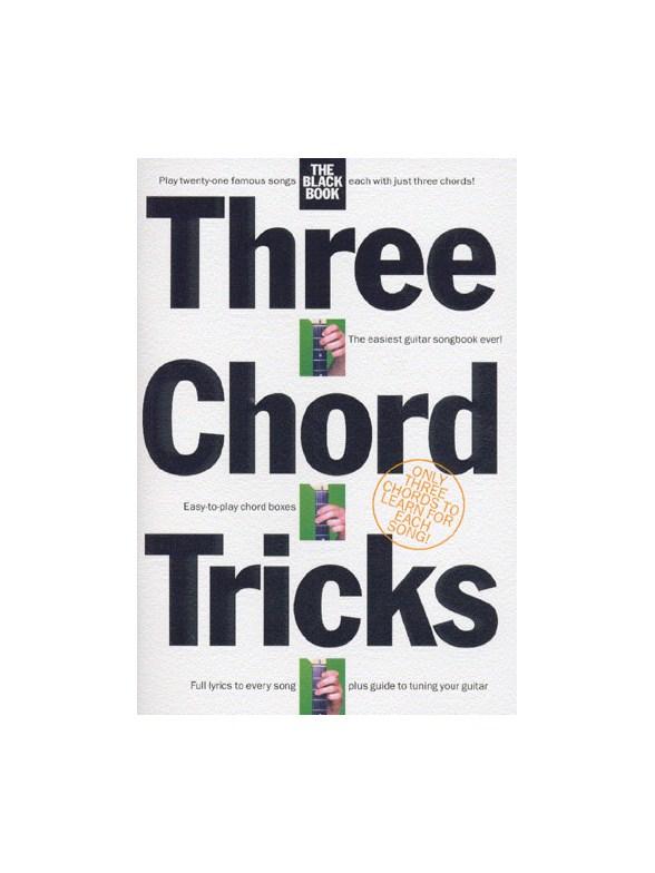 Three Chord Tricks: The Black Book - Lyrics & Chords Sheet Music ...