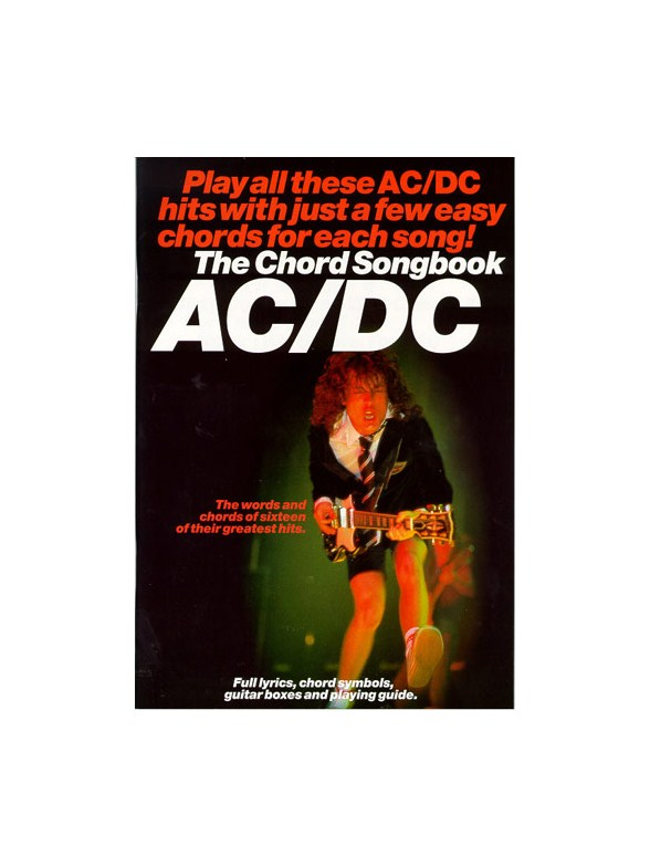 The Chord Songbook: AC/DC - Lyrics & Chords Sheet Music - Sheet ...